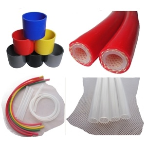 Silicone Braided Tubing / Platinum Cured FDA Food Grade Hose / Vacuum Tubing, ISO Certificated Manufacturer, Silicon Hose and Silicon Tubing