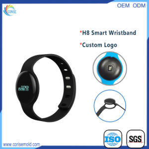 Heart Rate Sleep Monitor Calorie Burning Pedometer Bluetooth Wristband