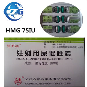 Bodybuilding Muscle Growth Steroids 75iu Liquid HMG pictures & photos