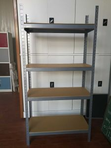 4 Shelves Shelf Shelving Unit, Garage Home Storage, Light Duty Metal Steel Rack pictures & photos