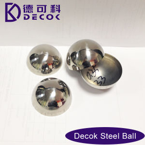 304 Large Mirror Hollow Stainless Steel Half Sphere for Metro Escalator Decoration pictures & photos