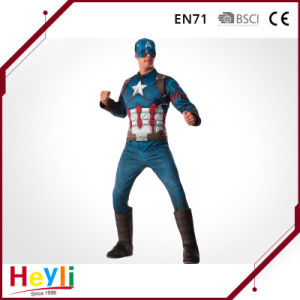 Movie Hero Captain America Cosplay Costume for Party Idea pictures & photos