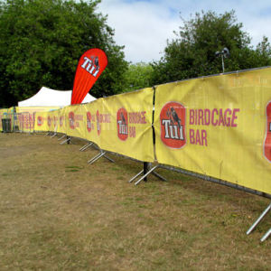 High Wind Mesh Banners, Air Through Mesh Fence Scrim Banner pictures & photos