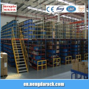 Mezzanine Rack with Ladders Multi Level Rack pictures & photos