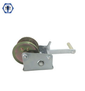 Hand Winch 600lbs Boat Trailer Winch Zinc Plated