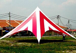 Star Shade Tent with Customized Color and Printing Tent pictures & photos