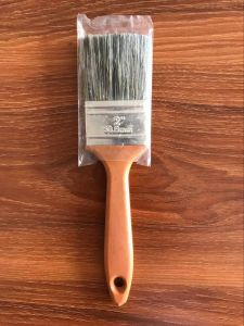 Tapered Filaments Mixed Bristle Paint Brush with Plastic Handle