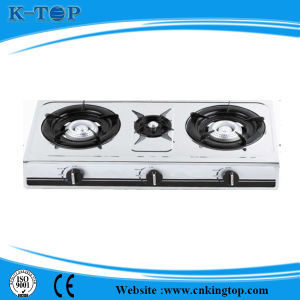 Triple Cooktop Gas Stove S/S Panel