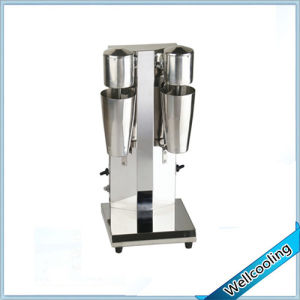2 Bowls Stainless Steel Portable Milk Shake Machine pictures & photos