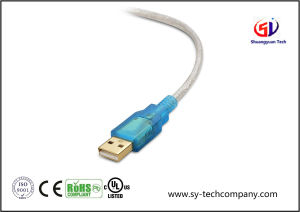 USB to RS-232 dB9 Male Serial Cable 3 Feet pictures & photos