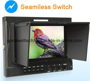 "Dual 3G HD-Sdi Input IPS Panel 7""LCD Monitor pictures & photos"
