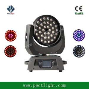 LED 36*15W Zoom Wash Moving Head 5in1 pictures & photos