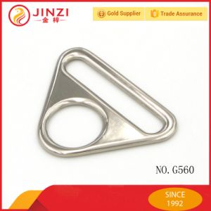 Dual Holding Triangle Metal Ring Buckle pictures & photos