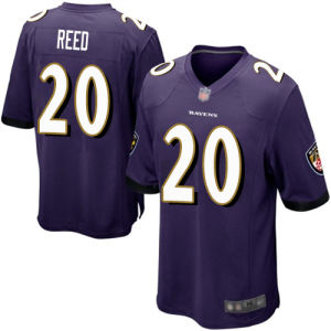 Ravens Jerseys 20 ED Reed Football Jerseys