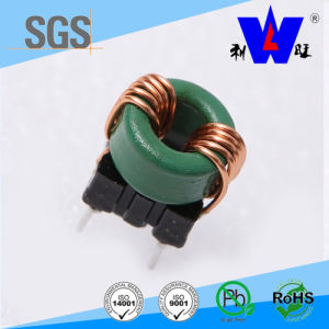 Inductance 100uh Iron Power Core Coil/Toroidal Choke Coils with Based pictures & photos