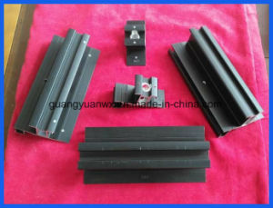Aluminum Anodized Profile/ Tubing for Solar Rack 6005 T5 pictures & photos