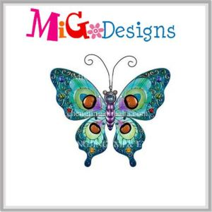Gorgeous Metal Art Green Butterfly Wall Decor pictures & photos