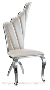 Luxury Modern Special Stainless Steel Hotel Furniture Banquet Chair(