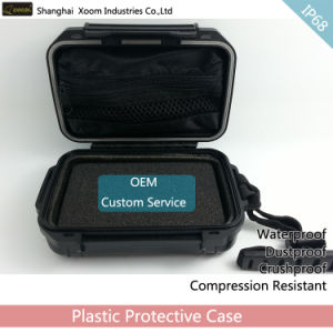 IP68 Mobile HDD Box Waterproof Box with Separation Earphone Box