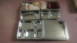 Easy Maintain Stainless Steel Snack Tray