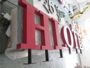 3D Business Signage Store Front Advertising Epoxy Resin Channel Letter pictures & photos