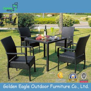 Garden Wicker Dining Table and Chair - Outdoor Furniture (FP0020)