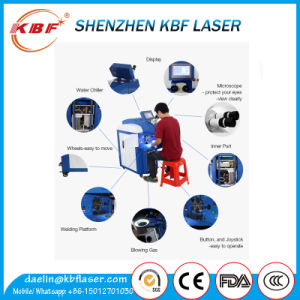 200W Shipment Save Laser Welding Machine for Jewelry pictures & photos