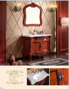 Sanitary Ware Bathroom Cabinet with European Archaize Series (6107) pictures & photos