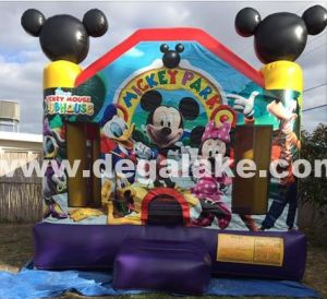 Inflatable Micky Mouse Jumping Bouncer for Amusement Park
