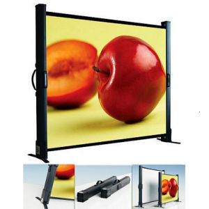 Portable Table Top Projection Screen pictures & photos