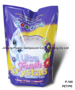 Custom Cat Litter Packaging Bag pictures & photos