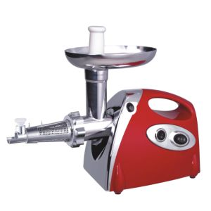1200W Electric Meat Grinder, Reverse Function with Tomato Juicer with CE, GS, CB, RoHS Cert