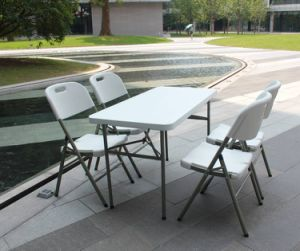 4ft Folding Table for Outdoor Picnic