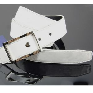 White Auto Buckle Golf Belt Leather 135cm pictures & photos
