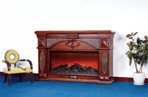 Electric Fireplace for Home Decoration&Heating (611) pictures & photos