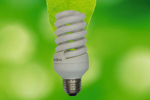 26W Two Parts Full Spiral Energy Saving Lamp