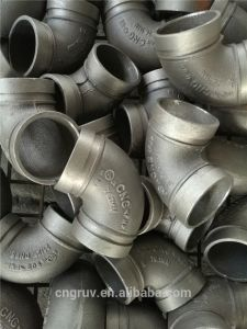 UL FM Approved Ductile Iron Grooved Pipe Fittings, Grooved Elbow