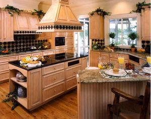 Classical Alder Solid Wood Cabinets for Kitchen and Bathroom Bc020