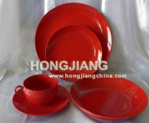 20PCS Porcelain Color Glazed Dinner Set pictures & photos