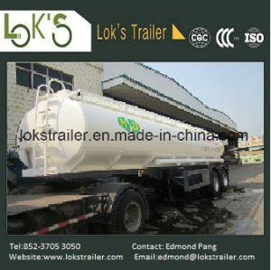 22 Cbm 3 Axles Tanker Semi Trailer