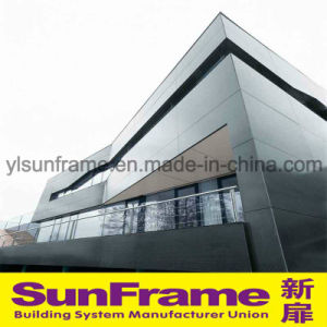 Aluminium Composite Panel Unitized Curtain Wall in Commercial Building pictures & photos