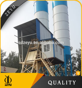 Hzs50 Fixed Concrete Batching Plant Stable Cement Mixing Plant