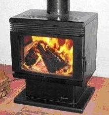 American Style Wood Burning Stove