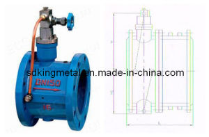 Slow Shut Butterfly Type Check Valves pictures & photos