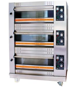3 Decks Gas Food Oven (YXY-F60) pictures & photos