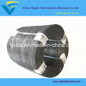 High Carbon Tensile Strength Black Wire