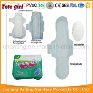 Ultra Thin Sanitary Pads 260mm/280mm pictures & photos