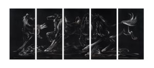 Horse in Run with 3D Effect for Metal Wall Arts pictures & photos