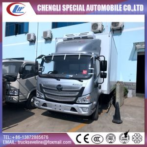 4X2 140HP High Quality Aumark Foton Refrigerated Truck pictures & photos