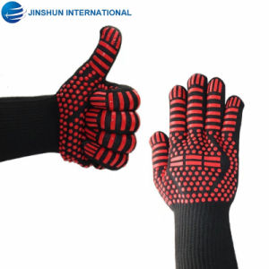 Whole Silicone Coated Oven Gloves Heat Resistant Cooking Mitts Bbq Grilling Fireplace Accessories